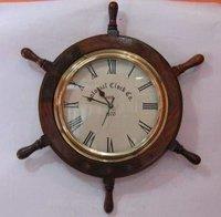 Antique Wooden Wall Clock