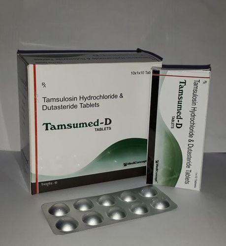 Tamsulosin 0.4 mg. + Ditasteride 0.5 mg Tablets
