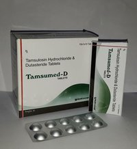 Tamsulosin 0.4 mg. + Ditasteride 0.5 mg Tablets