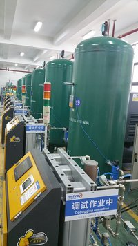Medical oxygen gas plant for Plateau area