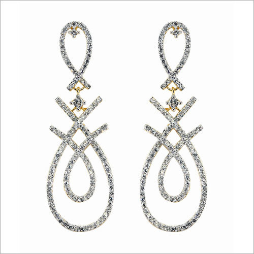 Diamond Twist Earring