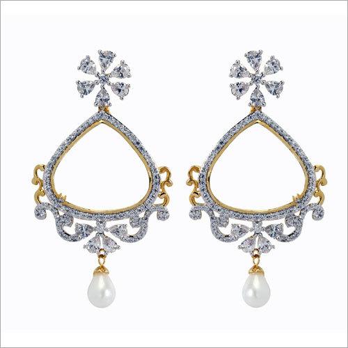 Diamond Jharokha Earring