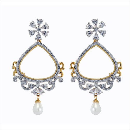 Diamond Jharokha Earring