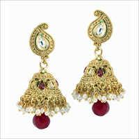 Pearl Jhumka Earring