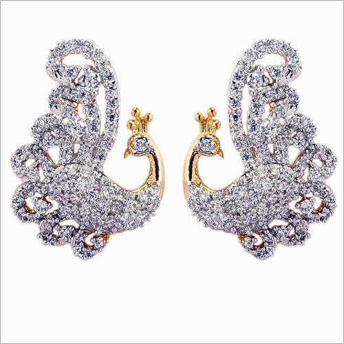 Peacock Design Earring