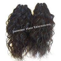 Raw Temple Wavy Human Hair
