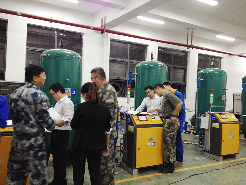 PSA Oxygen Generator with KOBELCO Air Compressor - Manufacturer