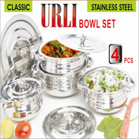Classic Urli Stainless Steel Bowl Set