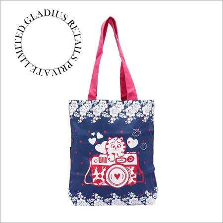 Ladies Canvas Print Bags