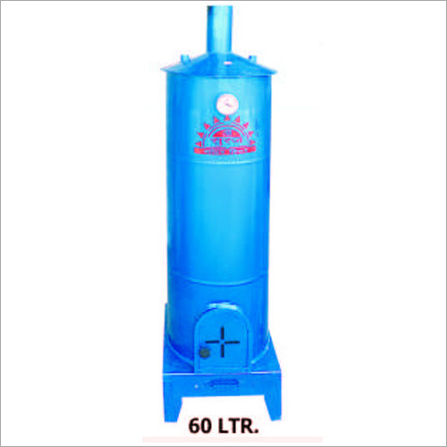 60 Ltr Wood Fire Water Heater