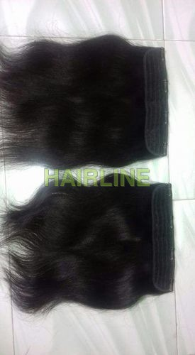 double weft blondle hair