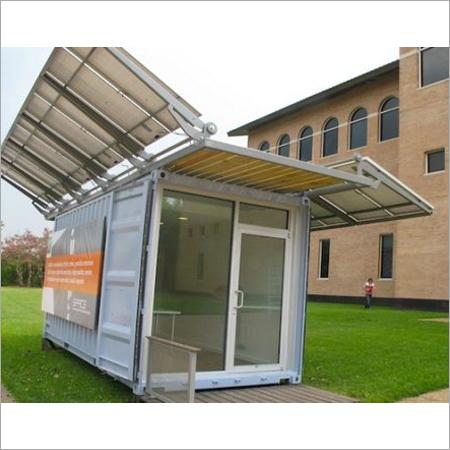 Portable Solar Panel Cabin