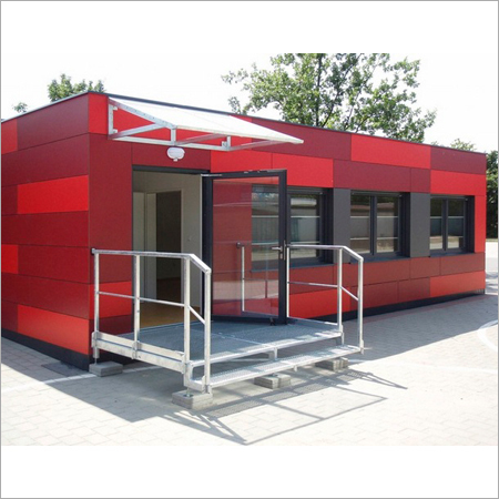 Portable ATM Container Cabin
