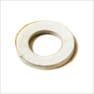 White Rubber Washer