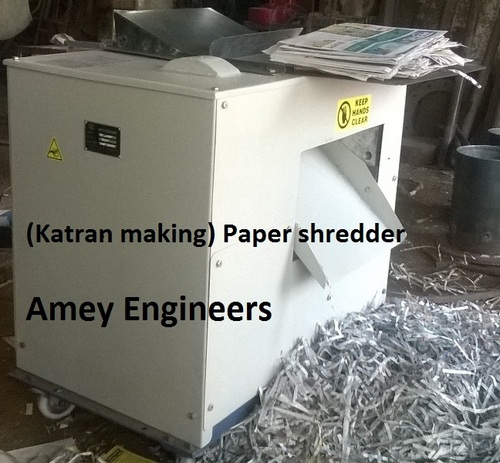 Newspaper Katran(paper) shredder for fruit packaging.