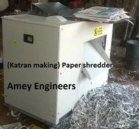 Newspaper Katran(paper) shredder for fruit packaging.