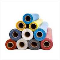 Colourful rubber sheet