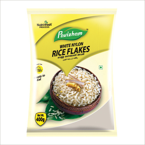 White Nylon Rice Flakes