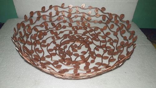 Decorative Aluminum Basket