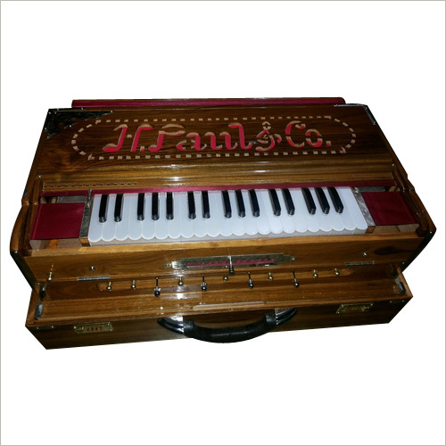 Scale Changer Wooden Harmonium