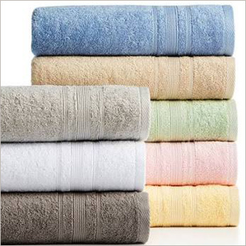 Multi Colored Cotton Bath Towel