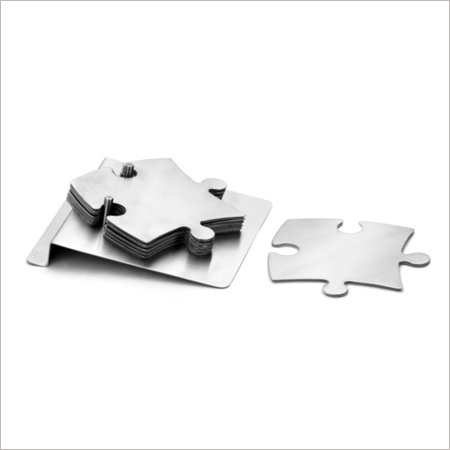 Steel Coaster Set