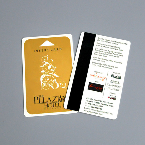 Screen hotel Cards
