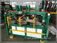 Wooden Pallets Leg Block Nailer Machine