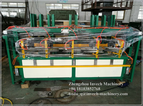 Automatic Block Wood Pallet Nailing Machine