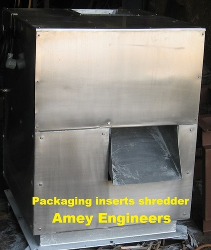 Packaging Inserts Shredder