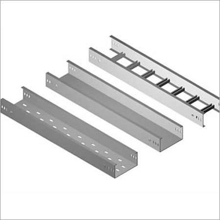Three Stainless Steel Cable Trays