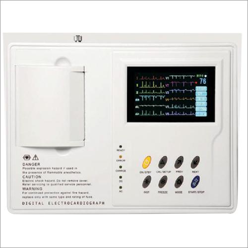 3 Channels ECG Machine