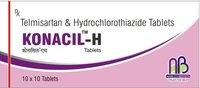 TELMISARTEN+ HYDROCHLOROTHIAZIDE TELMISARTEN+ Tablets