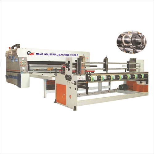 Auto Chain Feed Flexo Printer and Slotter Machine