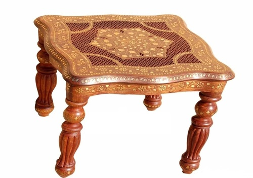 Hand Carved Stool