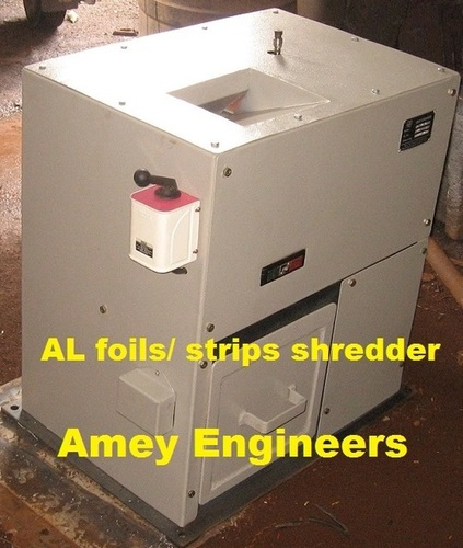 Aluminium Strips/Foils Shredder
