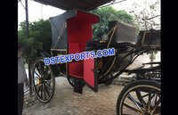 Royal Indian Family Wedding Buggy Carriage