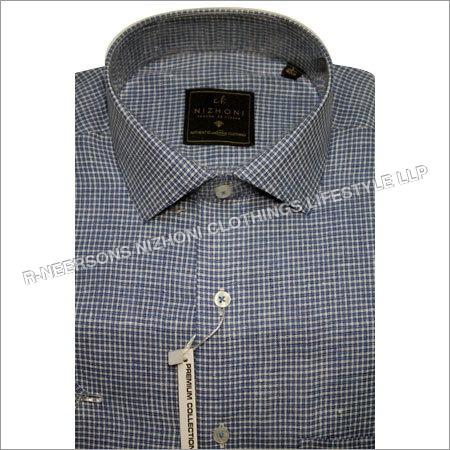 Mens Checks Shirt