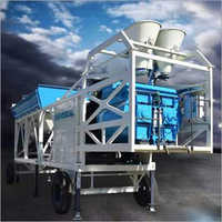 Mobile Batching Plant - Twin Shaft Mixer Type