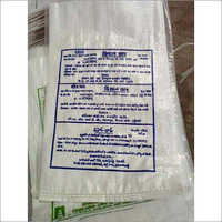 PP White Printed Sacks