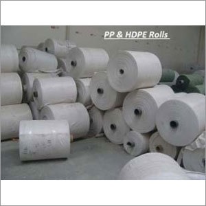 HDPE & PP Woven Non Laminated Fabric