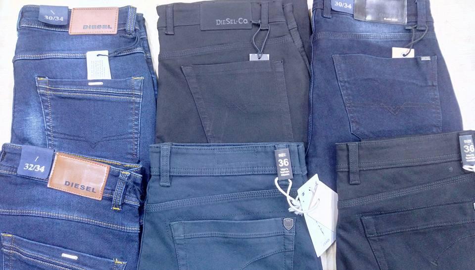 Men Branded Surplus Sized Jeans - Men Branded Surplus Sized Jeans