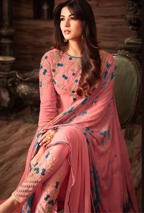 Red Stylish Designer Salwar Suit