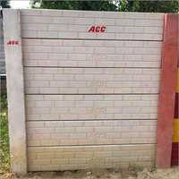 Fly Ash ACC Block Wall