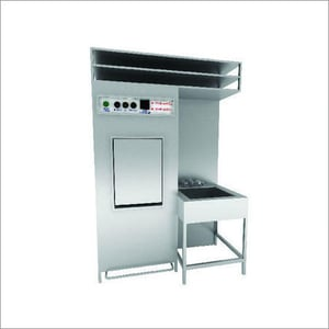 SS Bedpan Washer with Rack