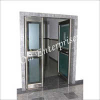 Stainless Steel Glass Door