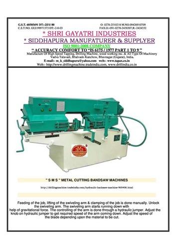 Bandhaw Machine