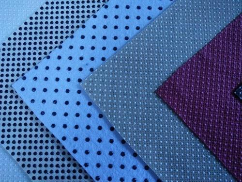 Anti slip coated fabric