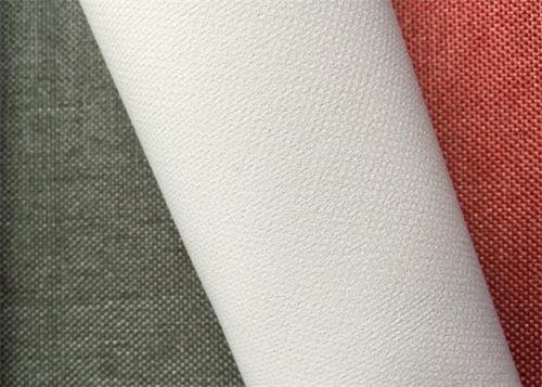 Curtain coated blackout fabric