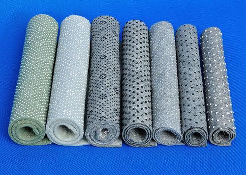Dot coated fabric
